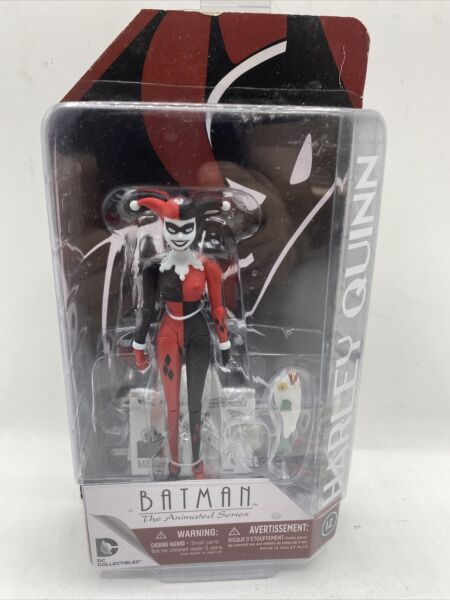 Batman The Animated Series Harley Quinn Figure DC Collectibles New