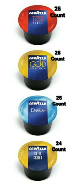Lavazza Blue Variety Coffee Capsules 99 Count Top Class Dek Caffe Crema amp; Gold