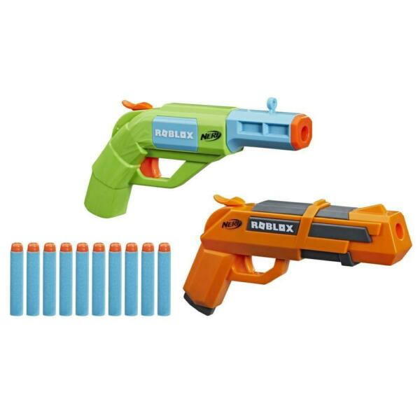 Nerf Roblox Jailbreak: Armory Includes 2 Blasters 10 Nerf Darts Code To