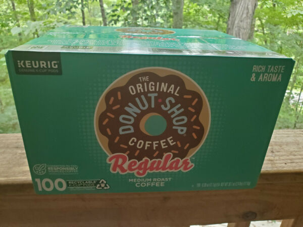 Green Mountain Coffee The Original Donut Shop Coffee Keurig K Cup 100 Pods