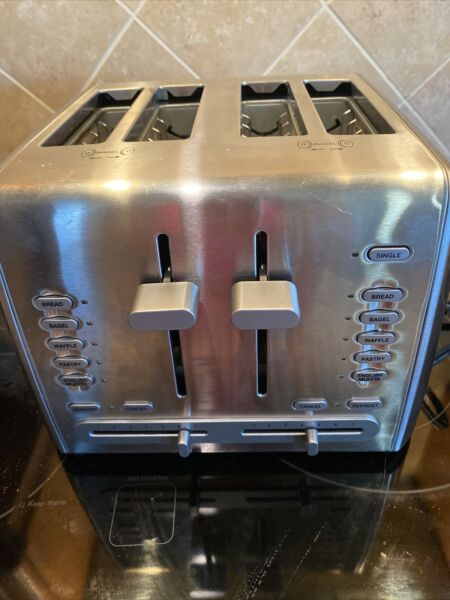 Cuisinart 4 Slice Toaster Grille Pain RST 1300pc