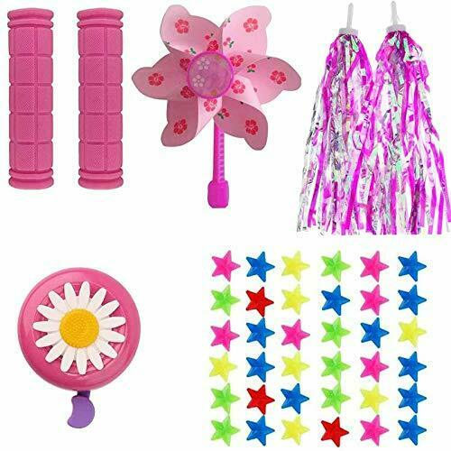 MeiMeiDa Bike Accessories for Kids Girls Bike Bicycle Decorations Including P... $20.92
