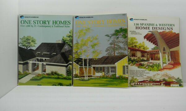 3 Home Planner Inc Magazines Home House Plan Spanish Ranch Homes $19.99