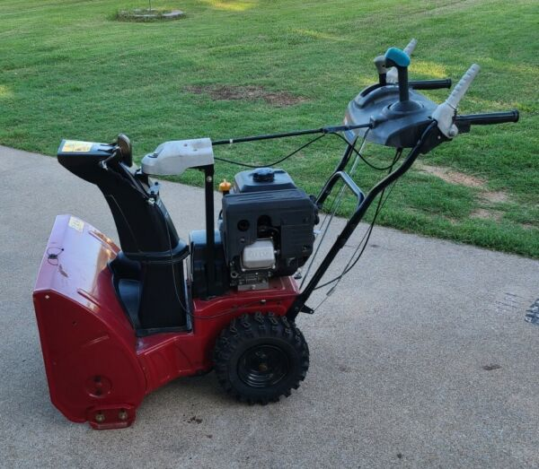Power Max 824 OE 24 in. 252cc Two Stage Electric Start Gas Snow Blower
