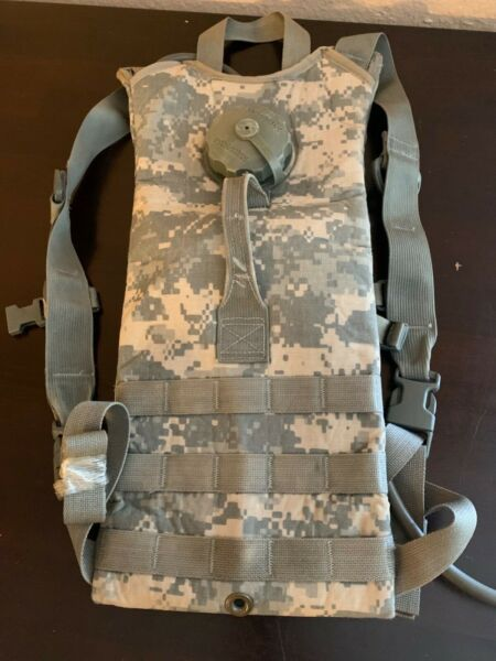 Digital Camo Hydration Backpack Water Carrier System Army 100oz Pack $13.75