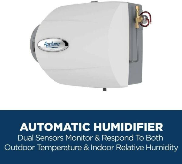 Aprilaire 500 Whole Home Humidifier Automatic Compact Furnace Humidifier Large $95.00