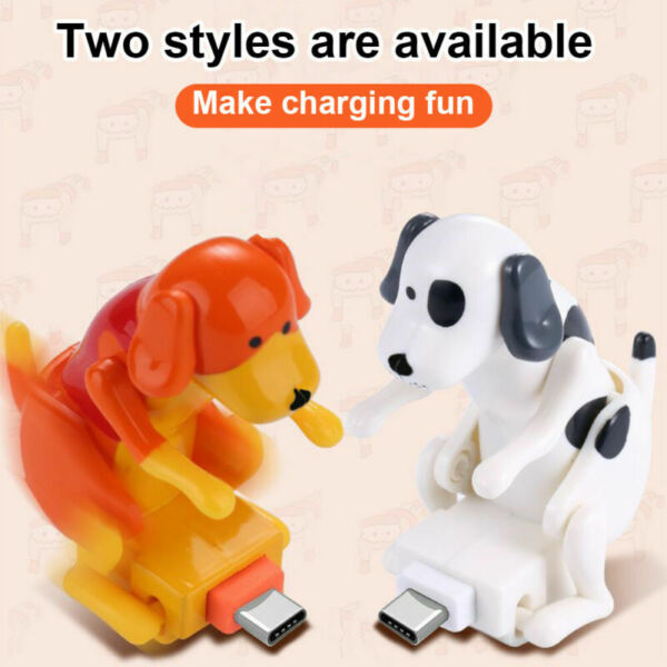Funny Humping Dog Fast Charger Cable Charging Line Power Data Transfer 3.94ft 2 $7.47