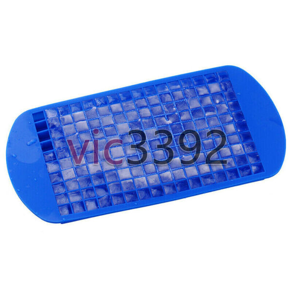 DIY For Ice Maker Mold 160 Grids Mini Ice Cube Tray Frozen Silicone Trays 2021 $3.69