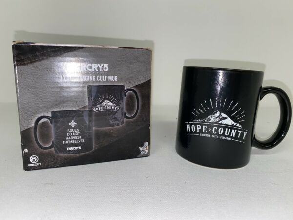 FARCRY5 Heat Changing Cult Mug.Open Box Never Used UBISoft $11.99