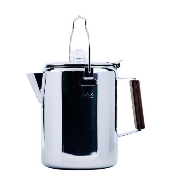 12 Cup Stainless Steel Percolator Coffee Pot