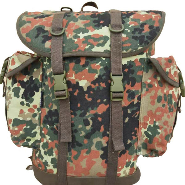 Cold War German Mountain Bag Camouflage Backpack Outdoor Mountaineering Bag $49.73