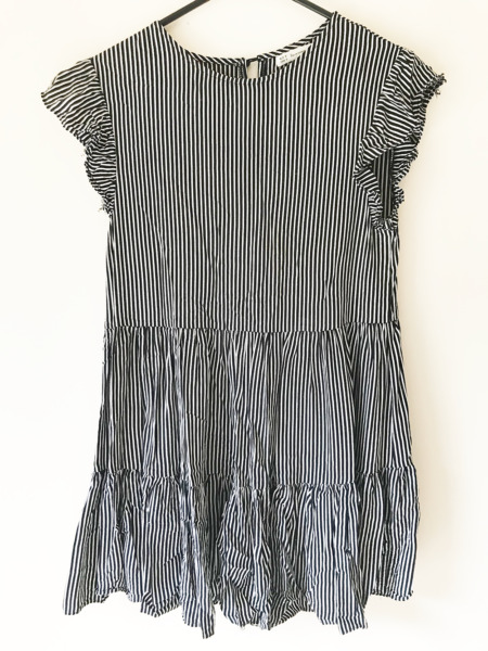Here Comes The Sun Baby Doll Shift Dress Size 8 Short Sleeved Casual Beach