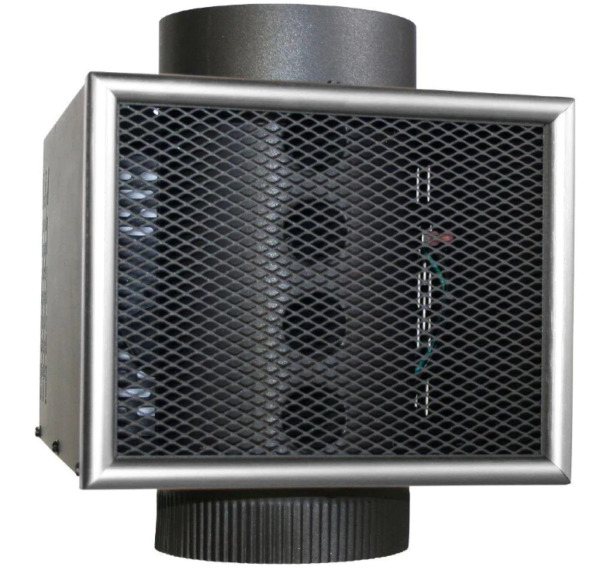 Wood Stove Heat Blower Coal Furnace 6 in. Chimney Pipe Heater Universal Sealed $150.32