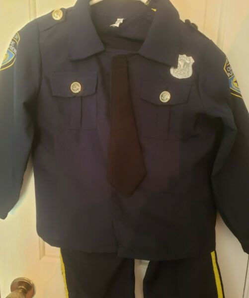 6 7 Boys POLICE OFFICER Halloween Costumes. $14.99