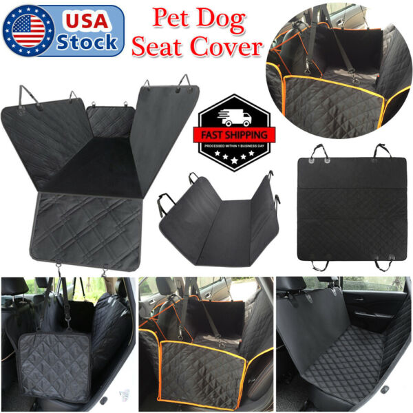 New Pet Dog Seat Cover HammockRear Back Car Travel Waterproof Bench Protector US $17.09