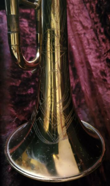VINTAGE CONN TRUMPET 22 B VICTOR EARLY MODEL; 400### 52 1953