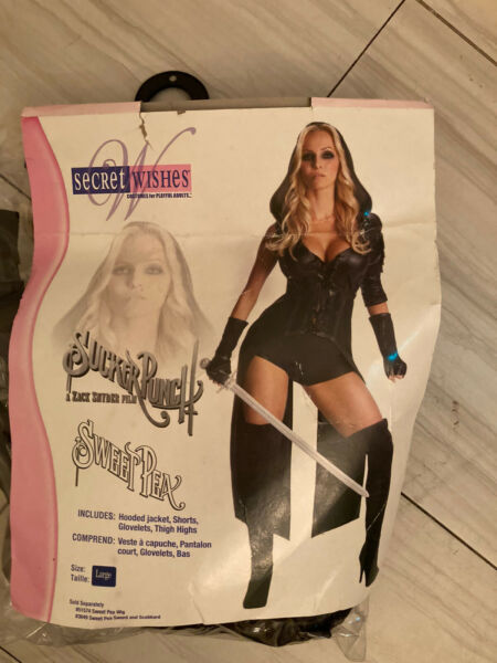 adult halloween costumes for women Large Missing Thigh Highs $10.00