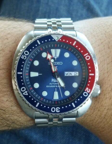 Seiko Prospex PADI Automatic Blue Dial Stainless Steel Men#x27;s Diver Watch SRPA21 $274.00