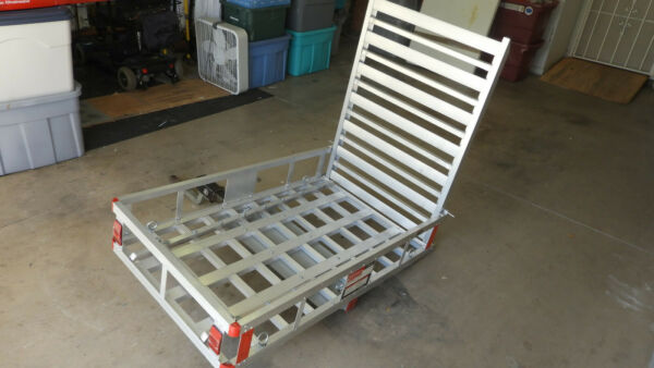 Mobility Carrier Wheelchair Electric Scooter Disability Medical Hitch Rack Ramp $175.00