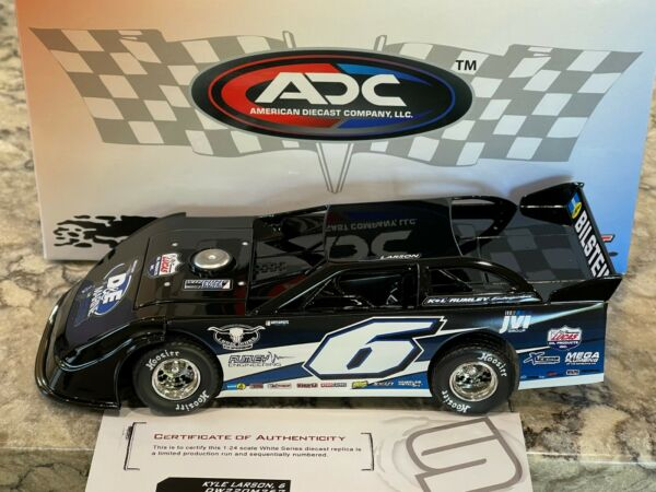 2020 ADC Kyle Larson #6 Rumley Dirt Late Model Diecast 1 24 1 of 1400 $249.99