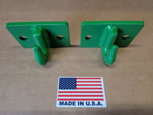 5 16quot; Bolt On Grab Hooks For Loader Tractor Bucket Heavy Duty Steel Pack Of 2 $30.00