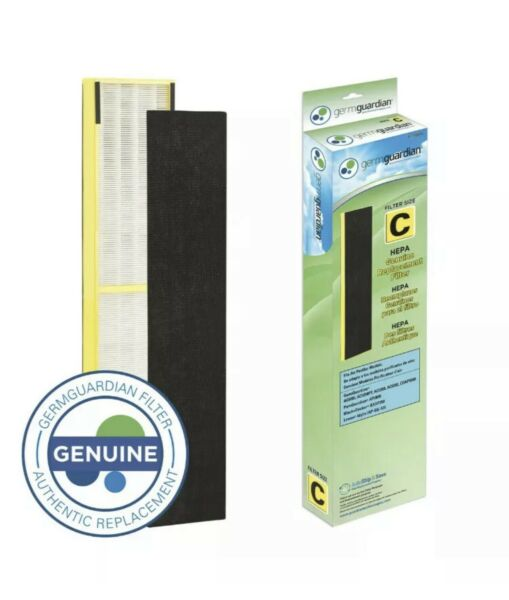 GermGuardian Air Purifier Filter FLT5000 Genuine HEPA Replacement Filter size C $21.99