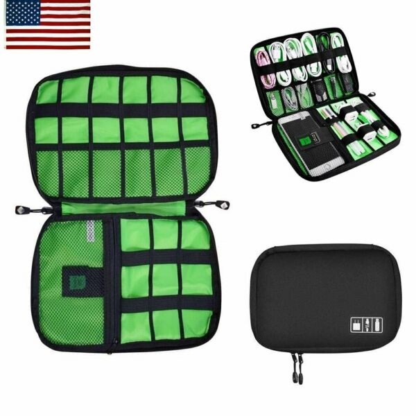 Universal Cable Organizer Bag for Travel Houseware Storage for Various USB Cable $4.99