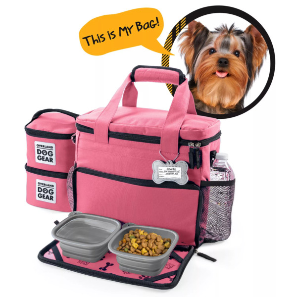 Mobile Dog Gear Week Away Travel Bag for Small Dogs Pink $29.99