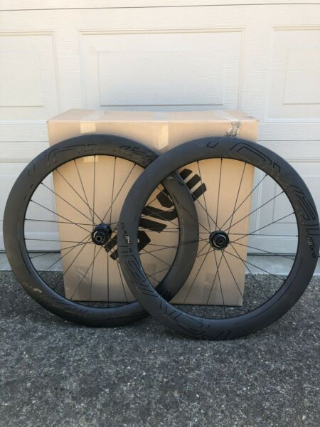 Specialized Roval CLX 64 Disc Aero Wheelset Shimano tubeless clincher great cond $2100.00