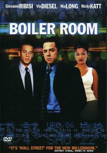 Boiler Room DVD 2000 AMAZING DVD IN PERFECT CONDITION DISC AND ORIGINAL CASE $5.95