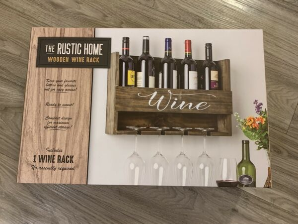Wooden Wine Rack Never Used
