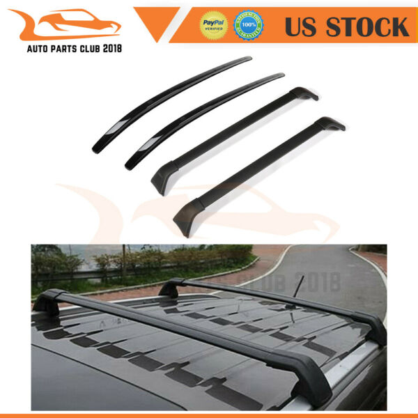 FIT FOR 2017 2018 Mazda CX 5 Cross Bars side rail TOP Roof Rack carrier Package $210.19