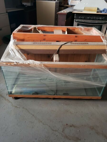 55 Gallon Fish Tank With Stand amp; Accessories $100.00