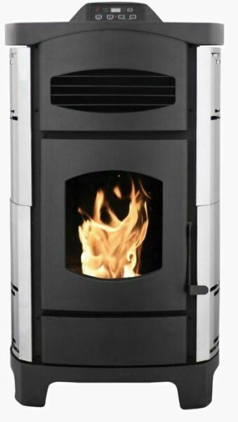 Ashley Hearth Products 2200 Sq. Ft. Pellet Stove with Brushed Stainless Steel $1049.99