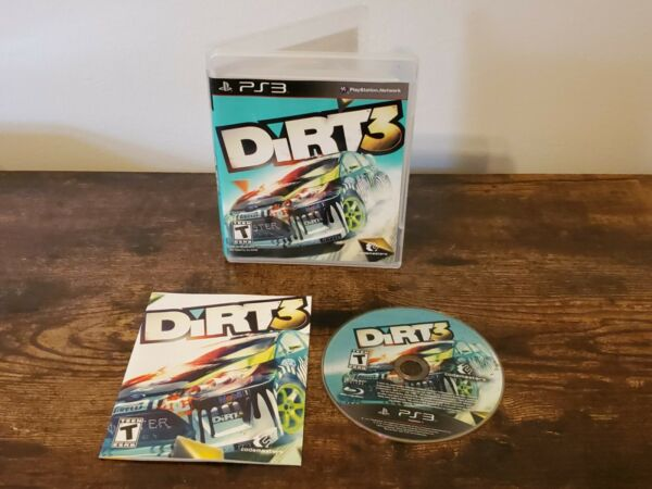 DiRT 3 PS3 Complete $10.99