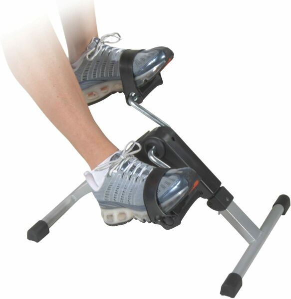 Pedal Exerciser Mini Cycle Fitness Exercise Bike 4 Legs Computer Digital Display $29.99