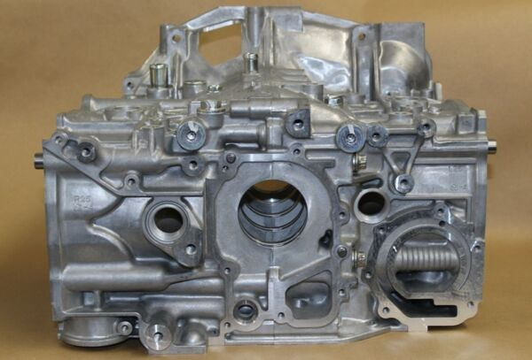 Subaru NEW OEM  EJ257 2.5L Bare Short Block Halves Impreza WRX STi NEW NR