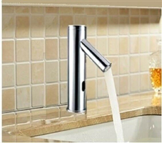 Automatic Sensor Faucet Chrome Finish Touch Free Operation by Cascada Showers