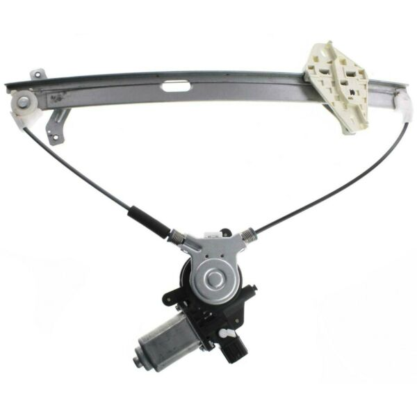 Power Window Regulator For 96-2000 Honda Civic Front, Driver Side With Motor