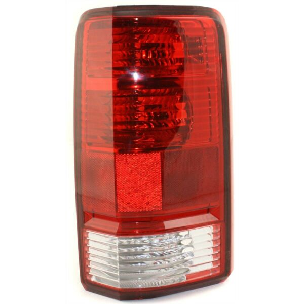 Halogen Tail Light For 2007 2011 Dodge Nitro Right Clear amp; Red Lens
