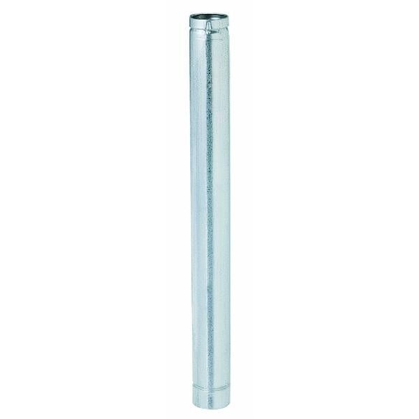 6 3quot; X 36quot; Galv W Stainless Liner Type L Insulated Gas Pellet Stove Pipe 3VP 36 $298.99