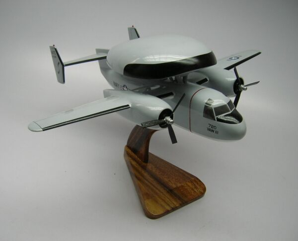 E-1B Tracer Willy CM Handcrafted Desktop Wood Model Large New