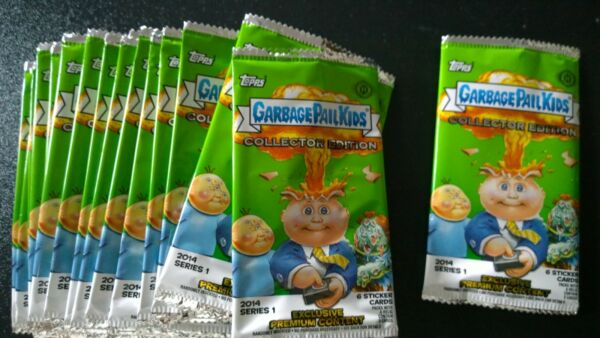 Garbage Pail Kids - GPK - 2014 Series 1 - Empty Wrapper (Collector's Edition)
