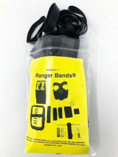 Ranger Bands 48 Mixed Made in the USA from EPDM Rubber Heavy Duty Survival Gear