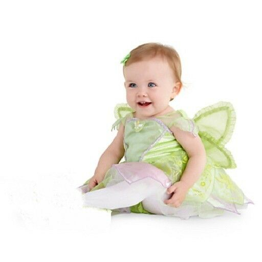 TiNkEr BeLL BoDySuiT COSTUMEWINGS INFANT BaBy Costume NWT Disney Store 2013