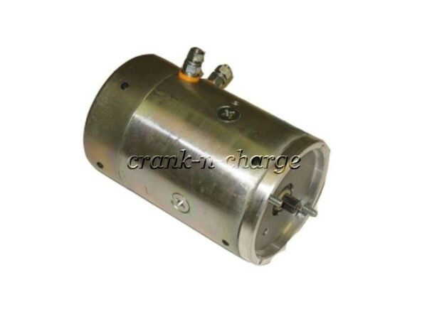 New Dual Post Curtis Snow Plow Fenner - Stone Pump Motor
