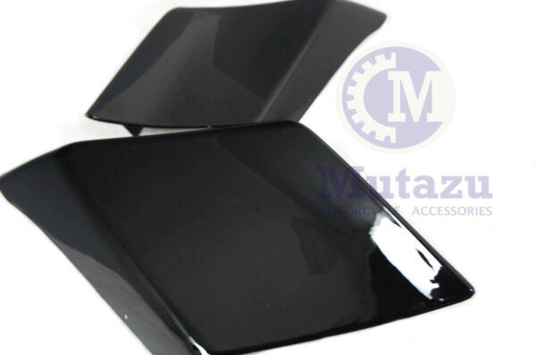 Mutazu Custom Black Stretched Side Covers Fits Harley Touring Road Glide Street $149.00