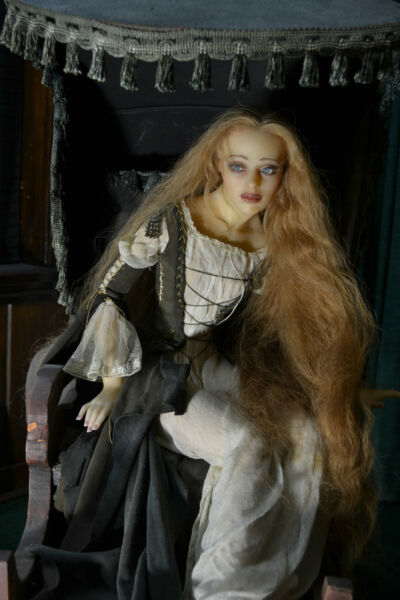 Gorgeous One of A Kind Doll The French Lieutenant's Women- Artist Eveline Frings