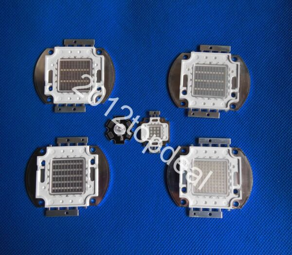 3w 10w 20w 30w 50w 100w UV Ultra Violet High power LED Chip 370 375nm F Aquarium $82.00