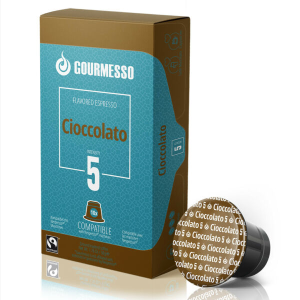 Gourmesso Chocolate - 50 Nespresso Compatible Coffee Capsules $0.45pod